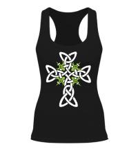 Женская борцовка Кельтский плетеный крест