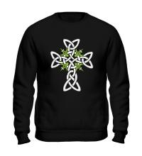 Свитшот Кельтский плетеный крест
