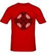Мужская футболка «Кельтский крест с узорами» - Фото 1