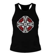 Мужская борцовка Кельтский крест с узорами