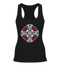 Женская борцовка Кельтский крест с узорами