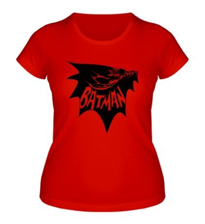 Женская футболка Dark Batman
