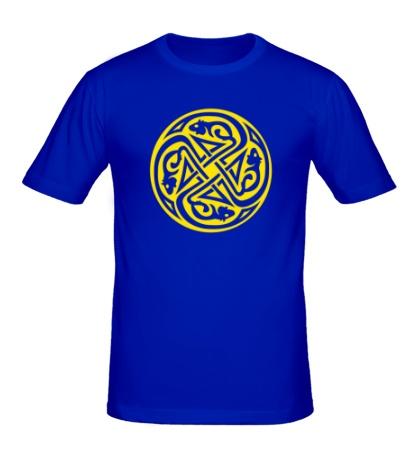 Мужская футболка Кельтский круг крыс