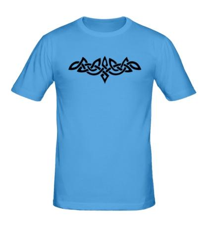 Мужская футболка Тату: кельтский узор
