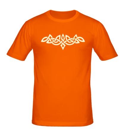 Мужская футболка Тату: кельтский узор, свет
