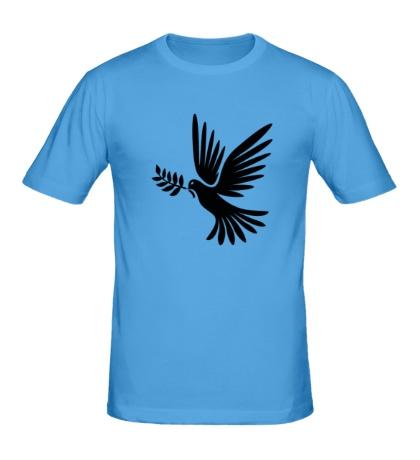 Мужская футболка Голубь мира