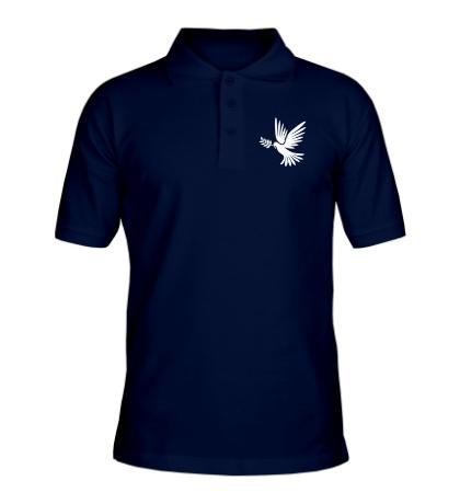 Рубашка поло Голубь мира