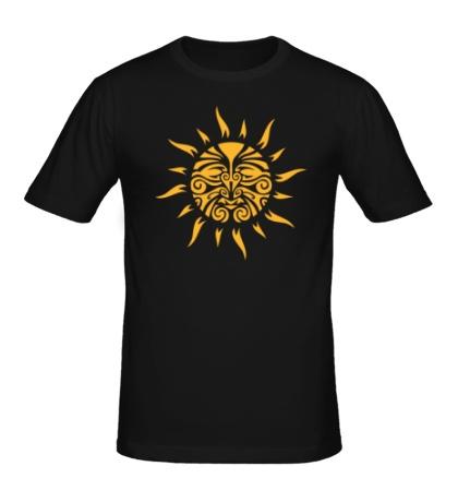 Мужская футболка Круговорот солнца