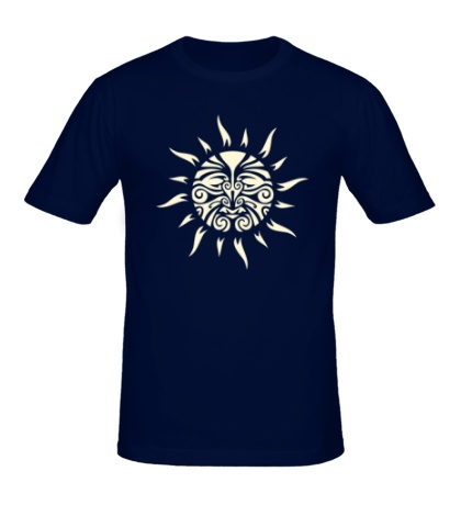 Мужская футболка Круговорот солнца, свет