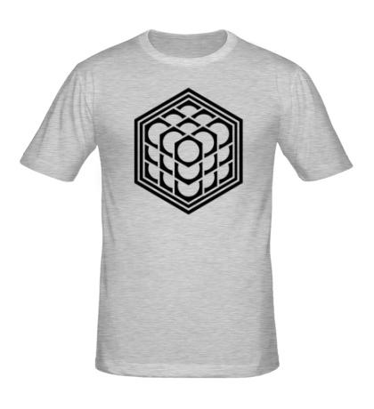 Мужская футболка Кельтский куб