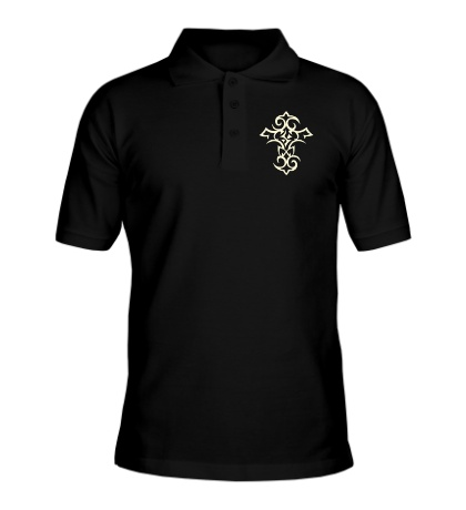 Рубашка поло Тату-крест, свет