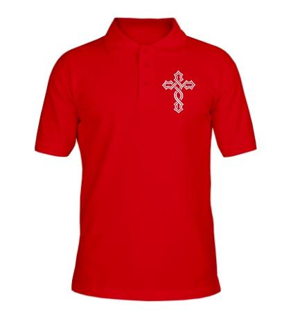 Рубашка поло Татуированный крест