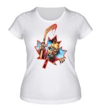 Женская футболка Iron Maiden: Canadian