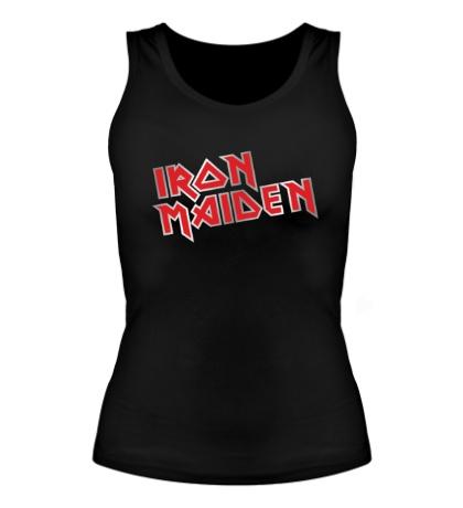 Женская майка Iron Maiden Metal Logo
