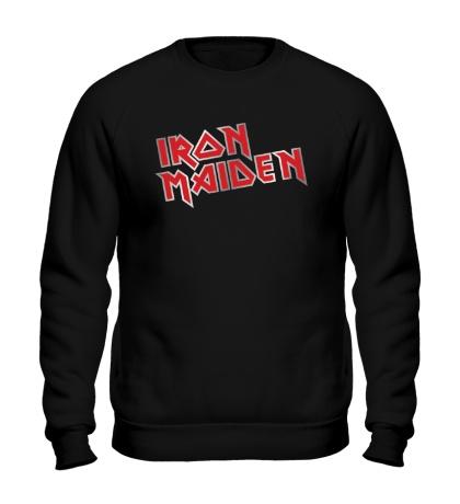 Свитшот Iron Maiden Metal Logo