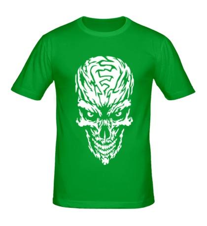 Мужская футболка Мистический череп
