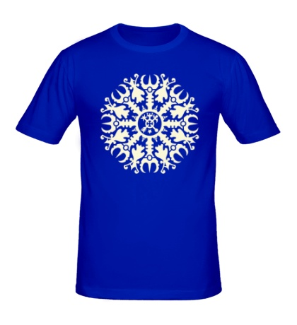 Мужская футболка Защитная руна, свет