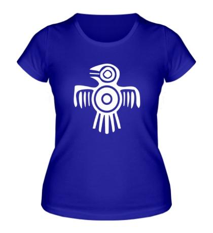 Женская футболка Египетская птица