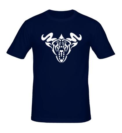 Мужская футболка Рогатый демон