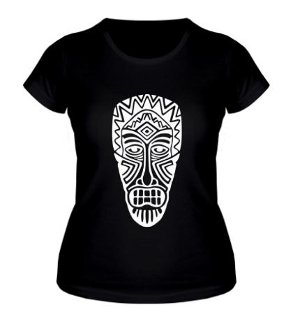 Женская футболка Маска аборигенов