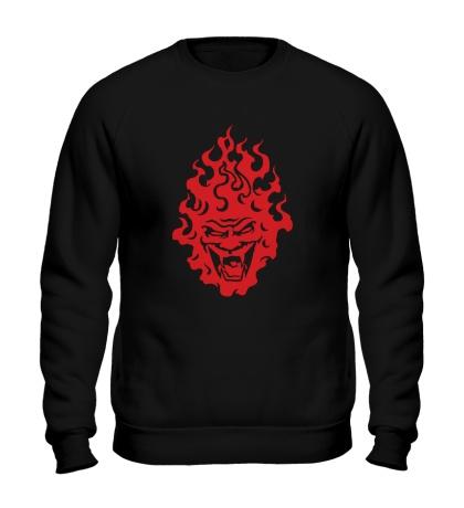 Свитшот Огненный демон