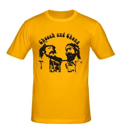 Мужская футболка Cheech and Chong