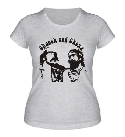 Женская футболка Cheech and Chong
