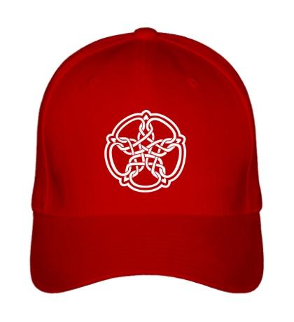 Бейсболка Звезда в стиле кельтских узоров