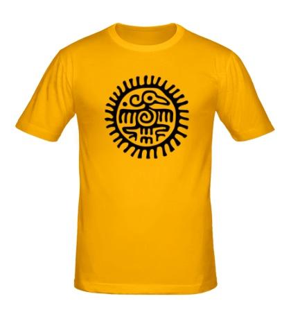 Мужская футболка Ацтекская птица