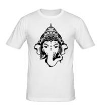 Мужская футболка Бог Ганеша