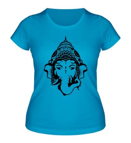 Женская футболка Бог Ганеша