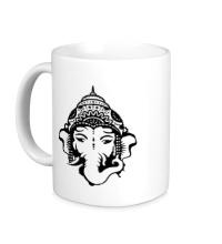 Керамическая кружка Бог Ганеша