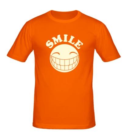 Мужская футболка SMILE свет