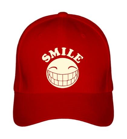 Бейсболка SMILE свет