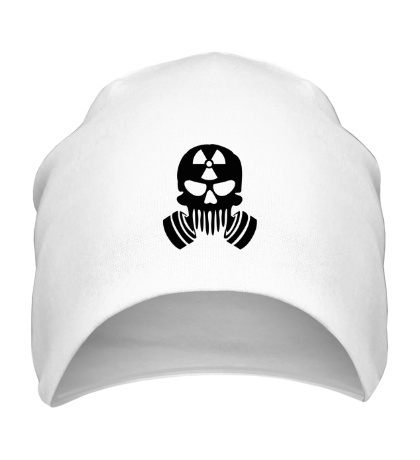 Шапка Радиоактивный череп
