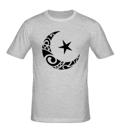 Мужская футболка Исламский символ