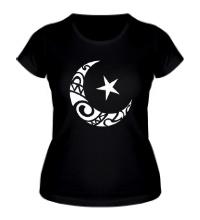Женская футболка Исламский символ