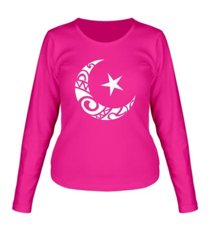 Женский лонгслив Исламский символ