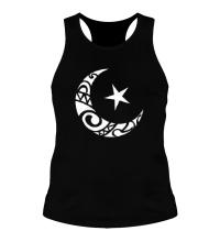 Мужская борцовка Исламский символ
