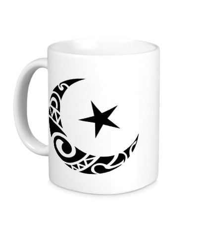 Керамическая кружка Исламский символ
