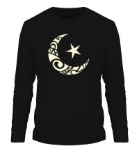 Мужской лонгслив Исламский символ свет