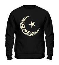 Свитшот Исламский символ свет