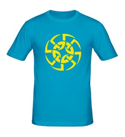 Мужская футболка Солнцеворот