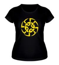 Женская футболка Солнцеворот