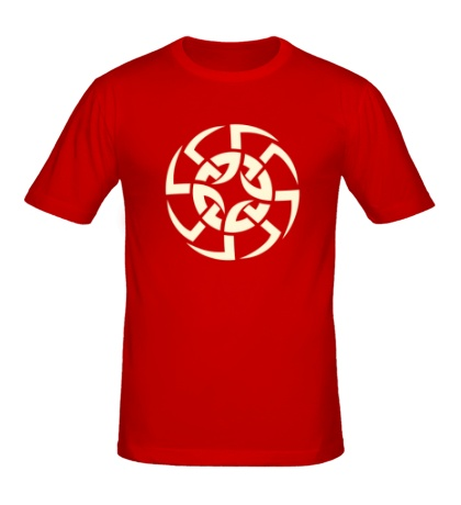 Мужская футболка Солнцеворот свет