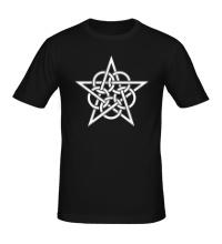 Мужская футболка Окольцованная звезда