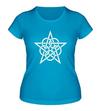 Женская футболка Окольцованная звезда