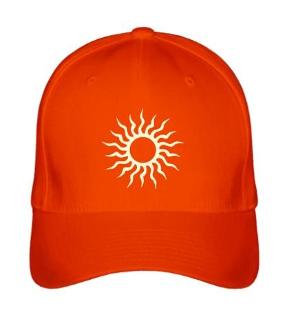 Бейсболка Солнце узор свет