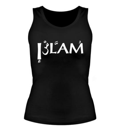 Женская майка Ислам