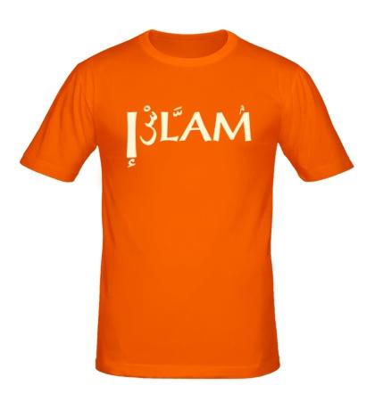 Мужская футболка Ислам свет